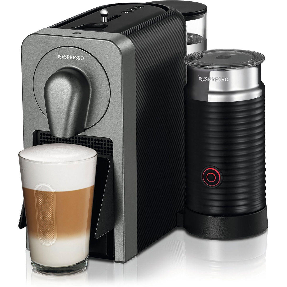Nespresso Prodigio Smart App Connected Coffee & Espresso Maker w/ Milk Frother