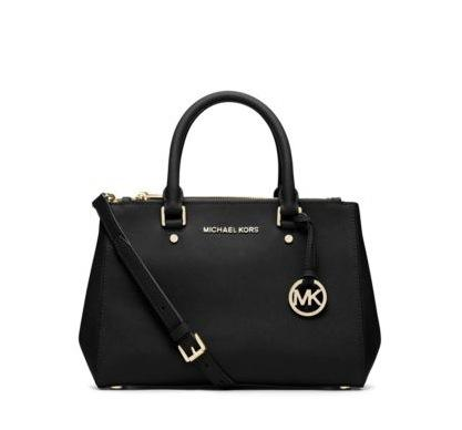 Michael Michael Kors Sutton Small Saffiano Leather Satchel