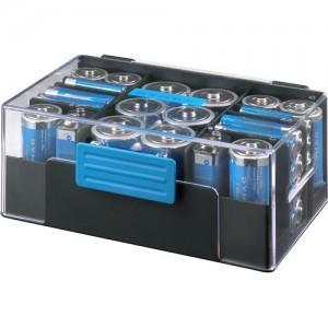 Dynex Assorted Batteries with Storage Box (42-Pack)