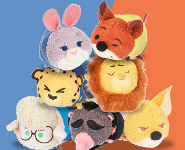 $5.95 Zootopia ''Tsum Tsum'' Mini Plush Collection