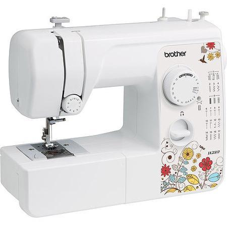 Brother 17 Stitch Sewing Machine, JX2517 Factory Refurbished