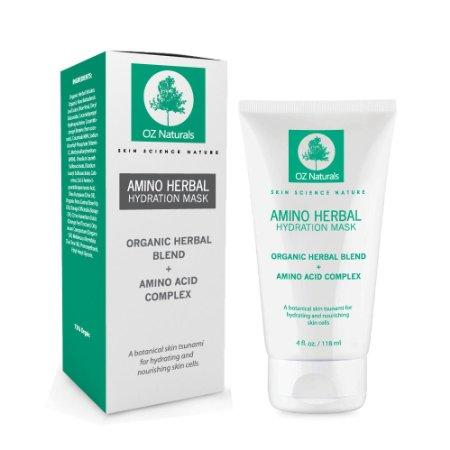 OZ Naturals Amino Herbal Hydration Face Mask