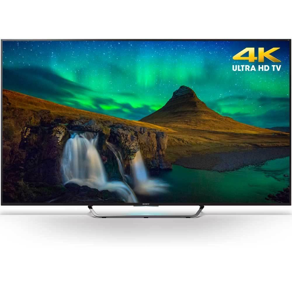 $899 Sony XBR-55X850C 55-Inch 3D 4K Ultra HD Smart Android LED HDTV