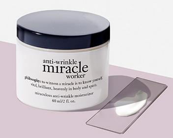 Free Anti-wrinkle Miracle Work Moisturizer With Any $60 Purchase @ philosophy