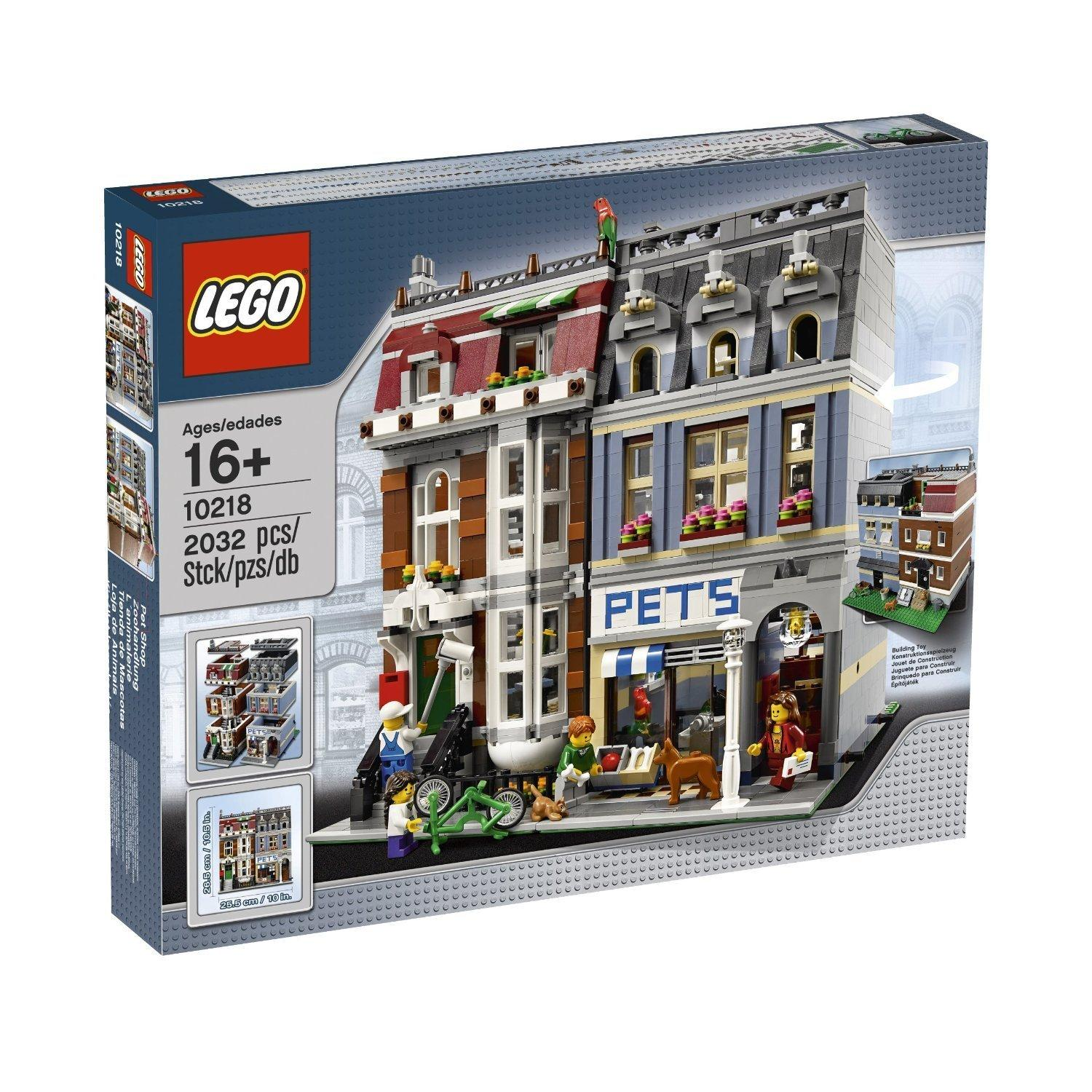 $116.98 LEGO Creator Pet Shop 10218