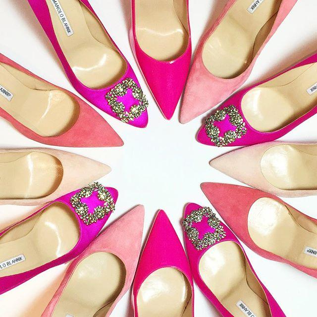 Earn Up to a $700 Gift Card with Manolo Blahnik Hangisi Purchase @ Saks Fifth Avenue