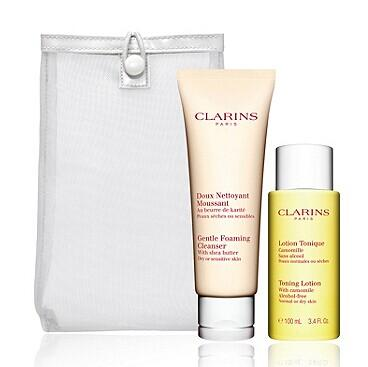 Clarins Cleansing Duo For Dry Skin @ Bon-Ton