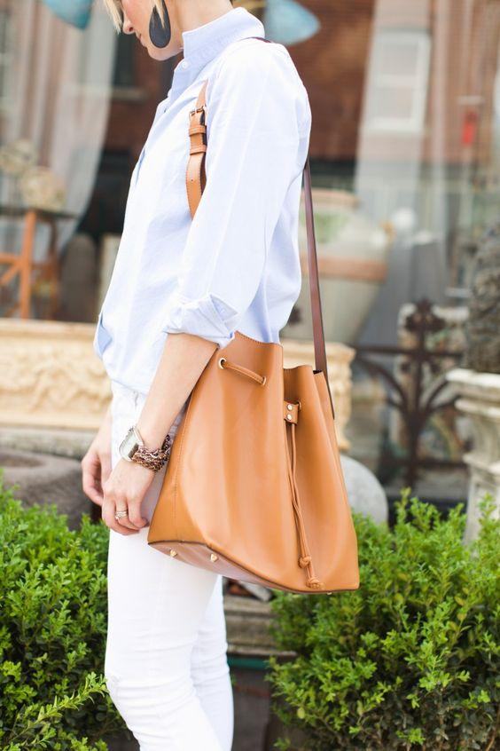 $25.98 Sole Society 'Nevin' Faux Leather Drawstring Bucket Bag On Sale @ Nordstrom