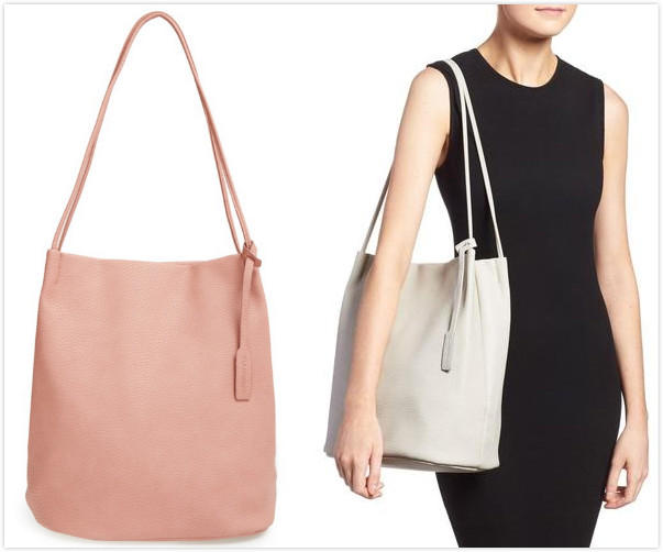 $33.98 GLAMOROUS Faux Leather Bucket Bag On Sale @ Nordstrom