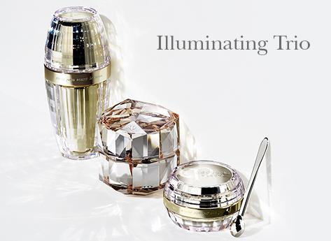 Free Illuminating Trio Travel Size SetWith Purchase of Any Full Size Illuminating Trio item @ Cle de Peau Beaute