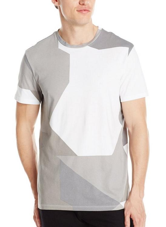 Calvin Klein Men's Short Sleeve Full Body Printed Jersey Tee