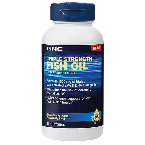 GNC Triple Strength Fish Oil