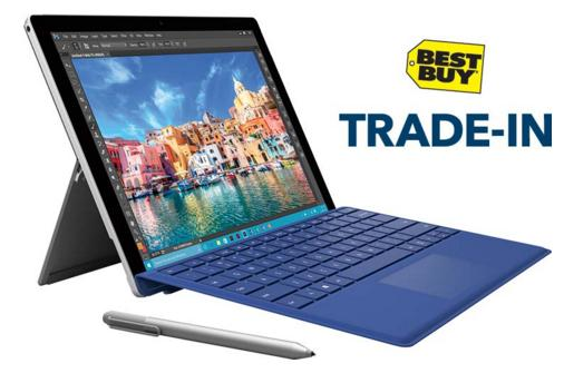 Get a Minimum of $100 Get Surface Pro 4 via trading in any working laptop or Surface device