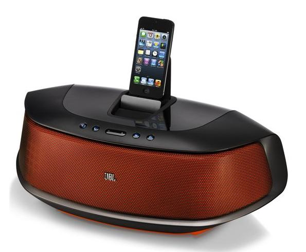 114.99 JBL OnBeat Rumble Boombox iPhone 5/6/6plus Dock with Bluetooth