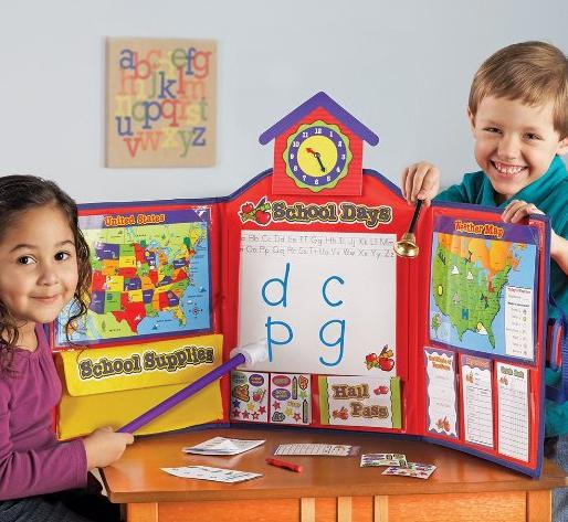 13.99 Learning Resources Pretend & Play School Set