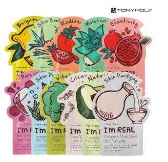 $10.7 TONYMOLY I'm Real Mask Sheet Pack of 11