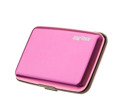 SHARKK® Aluminum Wallet Credit Card Holder With RFID Protection