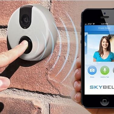 $104.99 SkyBell 2.0 Smart Wi-Fi Video Doorbell Plus Bonus Complete Hook-Up Bundle