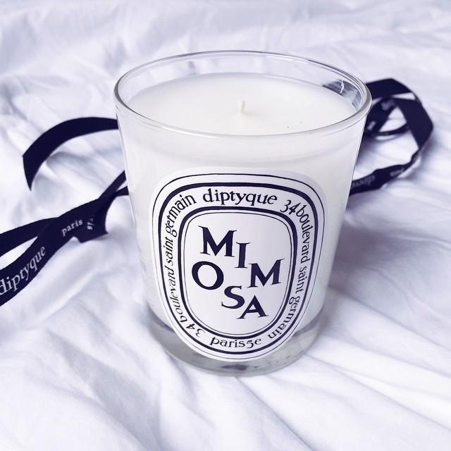 Last Day!! $60 Diptyque  Mimosa Scented Candle