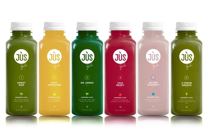 $110 Three- or Five-Day Juice Cleanse with Option for 12 Booster Shots from Jus by Julie