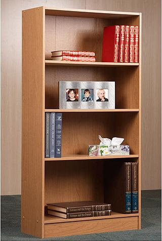 $19.88 Orion 4-Shelf Bookcase, Multiple Finishes