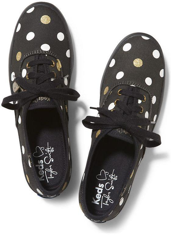 Start at $ 36.99 Keds Taylor Swift's Champion Glitter Dot Women's Sneaker @ 6PM.com