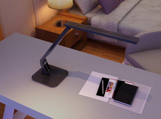 LAMPAT Dimmable LED Desk Lamp, 4 Lighting Modes
