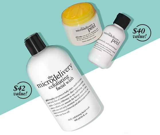 Free Microdelivery Gift With Any $40 Purchase @ philosophy
