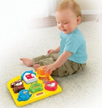 Fisher-Price Brilliant Basics Activity Puzzle @ Amazon