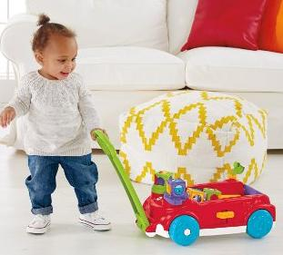 Fisher-Price Roller Blocks Rockin' Wagon @ Amazon