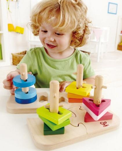 Hape - Creative Peg Puzzle @ Amazon