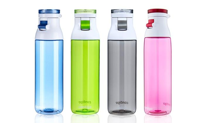 Contigo Jackson Water Bottle, 24-Ounce, Grayed Jade