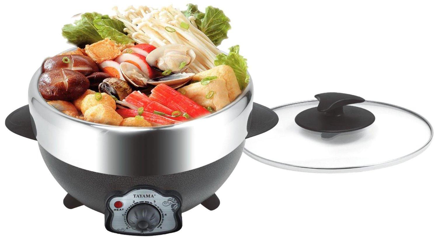 Tayama Electric Shabu and BBQ Grill with Pot, TRMC-22