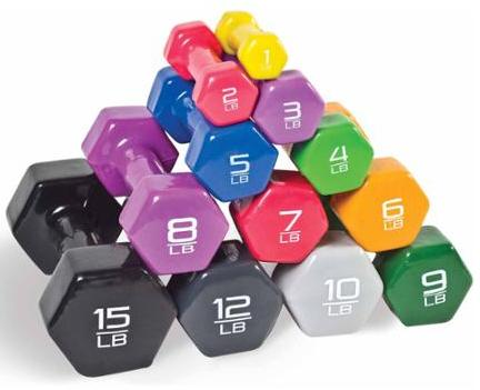 From $0.85 CAP Barbell Vinyl-Coated Dumbbell, Single