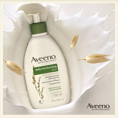 $4.58 Aveeno Active Naturals Daily Moisturizing Lotion, 18 Ounce