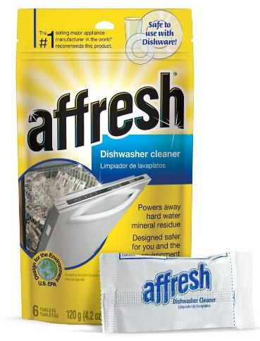 Affresh W10282479 Dishwasher Cleaner, 6 Tablets @ Amazon