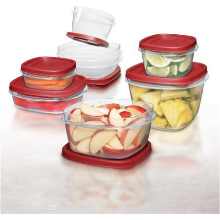 $10 Rubbermaid Easy Find Lids 24-Piece Plus 4 Food Storage Set