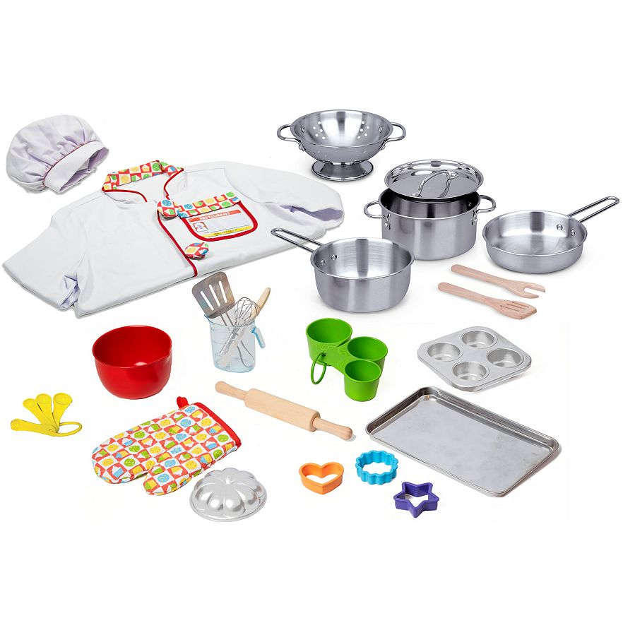 Melissa & Doug 31-pc. What's Cooking Deluxe Playset