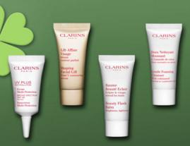 6 Deluxe Samples with $50 Purchase @ Clarins