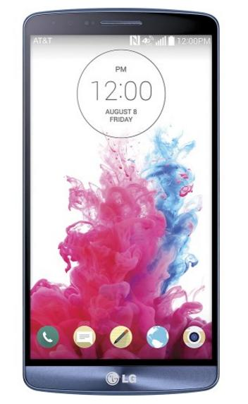 LG - G3 Blue Steel 4G Cell Phone - Blue (AT&T)