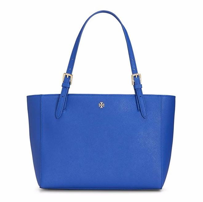 YORK SMALL BUCKLE TOTE @ Tory Burch