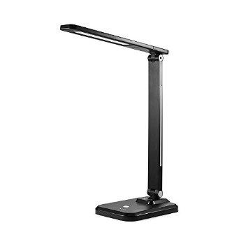 Anker Lumos A1 LED Desk Lamp / Table Lamp (Eye Protection Technology, 4 Dimming Levels with Touch Control) (Black)