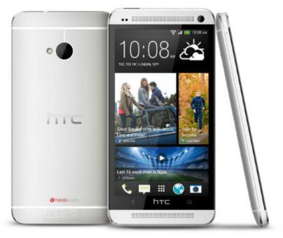 $129.99 HTC One M7 32GB (T-mobile - Unlocked) 4G LTE with Beat Audio Phone Silver