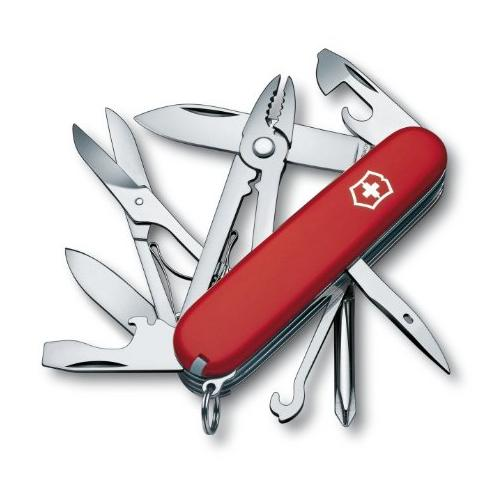 Lightning deal-Victorinox Swiss Army Deluxe Tinker, Red
