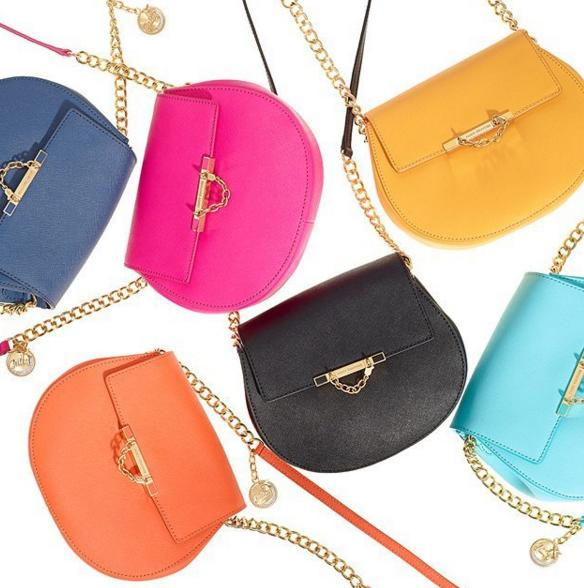 $104 LEATHER MINI J CROSSBODY BAG On Sale @ Juicy Couture