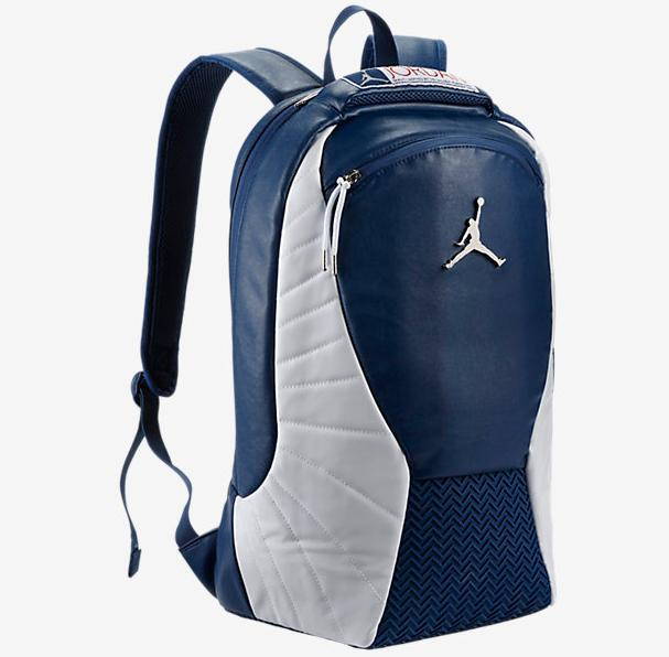 "$85 ""French Blue"" Jordan 12 Backpack @ Nike Store"