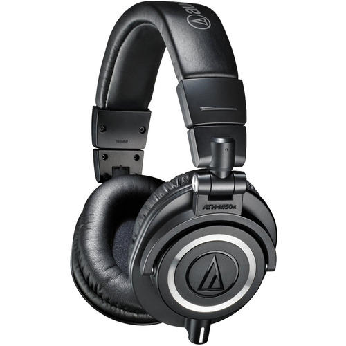 Audio-Technica ATH-M50X Professional Studio Headphones