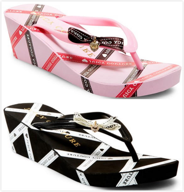 CAYLIE LOW WEDGE SANDAL On Sale @ Juicy Couture