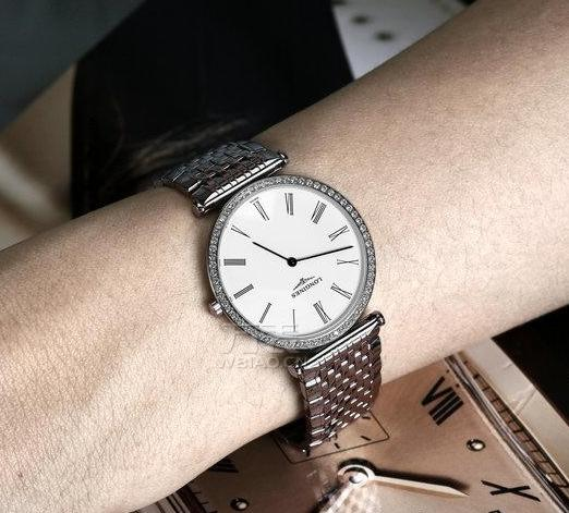Longines La Grande Classique White Dial Steel Ladies Watch