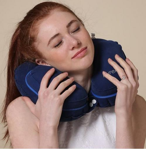 Purefly Inflatable Neck Pillow